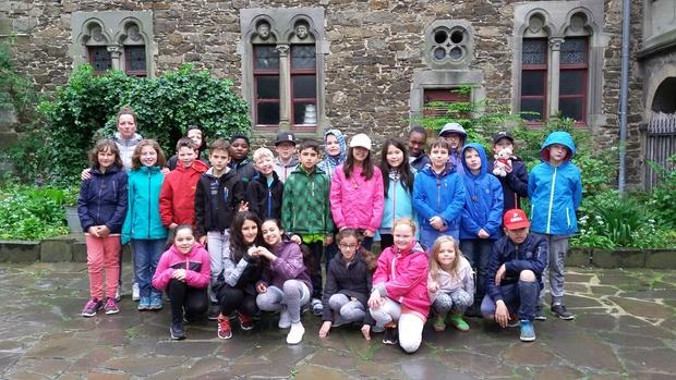 Klassenfahrt nach Schloss Burg