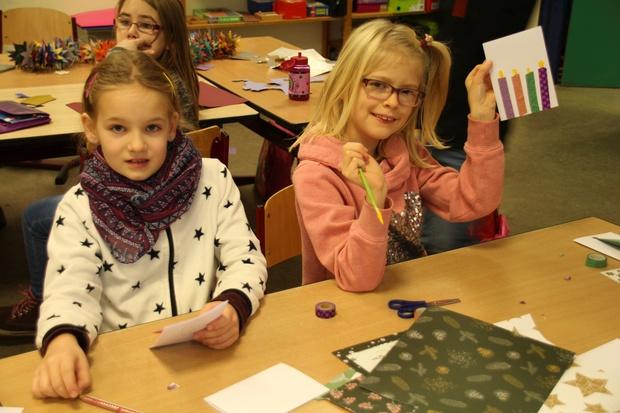 Adventsbasteln Grundschule Landchenweg